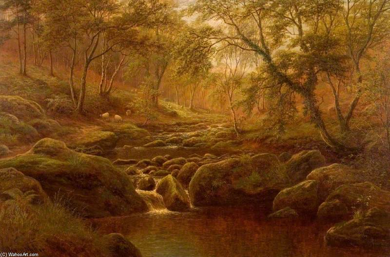 Oak Beck, Harrogate by William Mellor (1851-1931, United Kingdom)