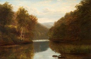 William Mellor - On The Dee At Llangollen