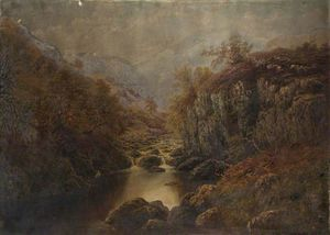 William Mellor - On The Lledr, North Wales