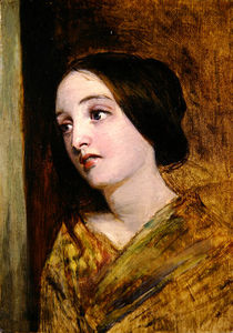 William Powell Frith - Head And Shoulders Of A G..