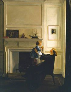 William Rothenstein - Mother And Child