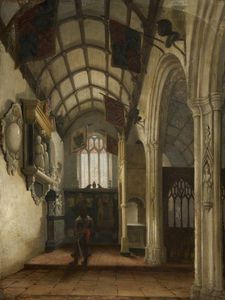 Nicholas Matthew Condy - Interior Of A Church