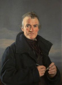 Nicholas Matthew Condy - Portrait Of An Old Fisherman
