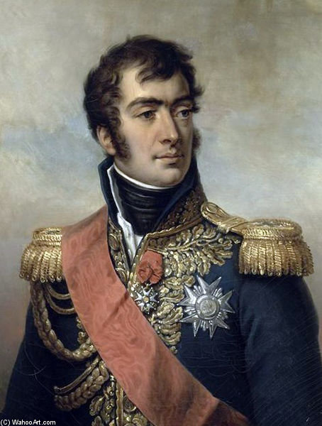 Auguste Frédéric Louis Viesse De Marmont, Marshal Of France. by Paulin Jean Baptiste Guerin (1783-1855, France)