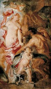 William Etty - Allegorical Study