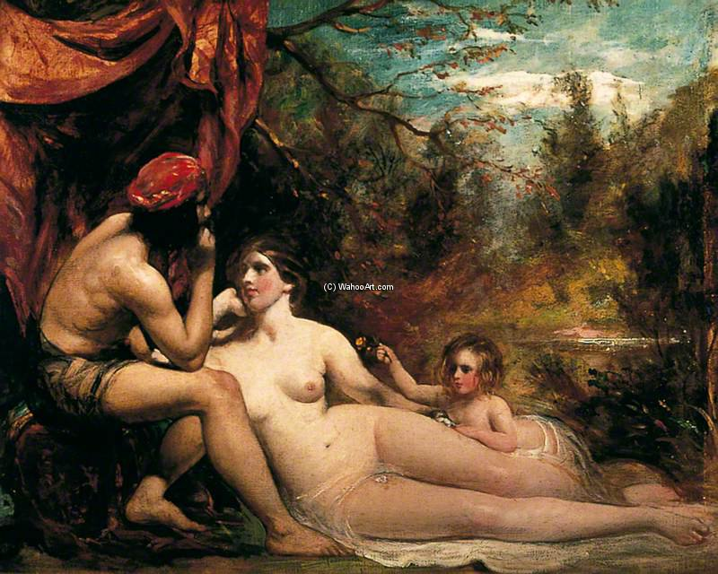 Flowers Of The Forest by William Etty (1787-1849, United Kingdom) | Art Reproduction | ArtsDot.com