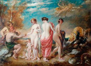 William Etty - The Judgement Of Paris -