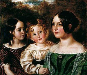 William Etty - The Wood Children
