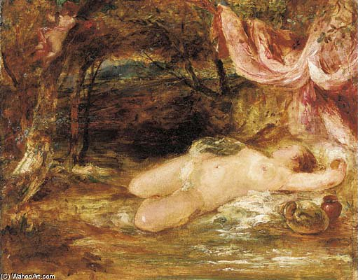 Venus And Cupid - by William Etty (1787-1849, United Kingdom) | Art Reproduction | ArtsDot.com