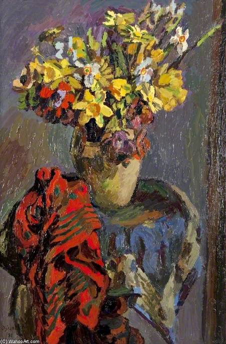 Daffodils by Duncan Grant (1885-1978, Scotland)