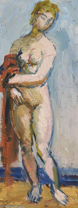 Figure by Duncan Grant (1885-1978, Scotland)