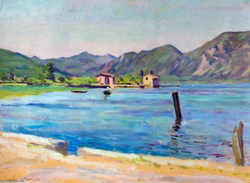 Iseo by Duncan Grant (1885-1978, Scotland)