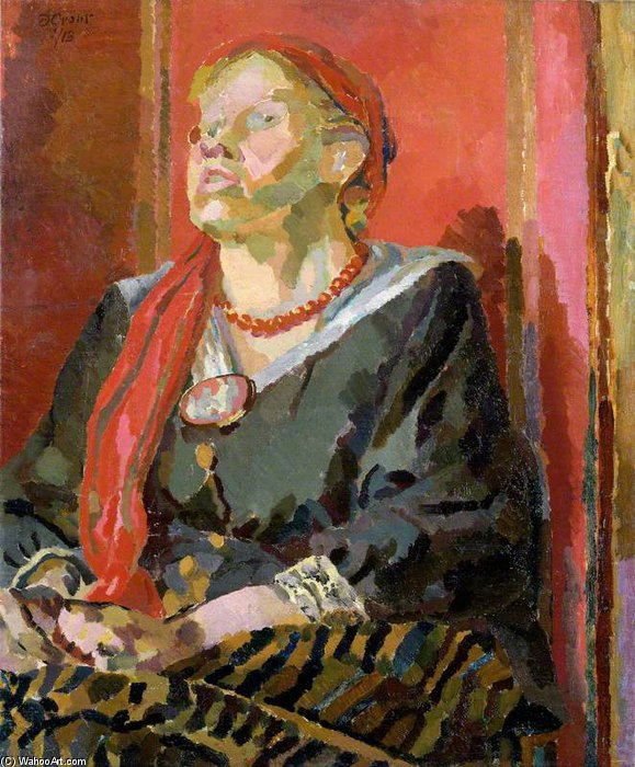 Katherine Cox by Duncan Grant (1885-1978, Scotland)