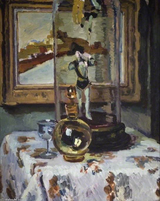 On The Table by Duncan Grant (1885-1978, Scotland) | Museum Art Reproductions | ArtsDot.com