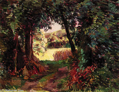 Path In The Woods by Duncan Grant (1885-1978, Scotland)