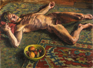 Duncan Grant - Reclining Nude -