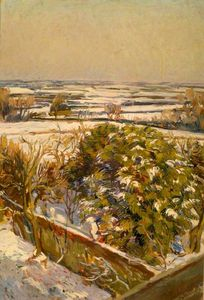Duncan Grant - Snow At Charleston, East ..