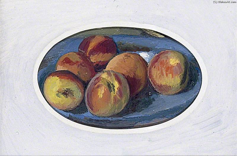 Still Life With Apples by Duncan Grant (1885-1978, Scotland)