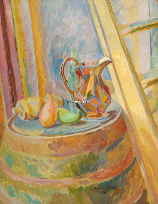 Still Life With Jug by Duncan Grant (1885-1978, Scotland)
