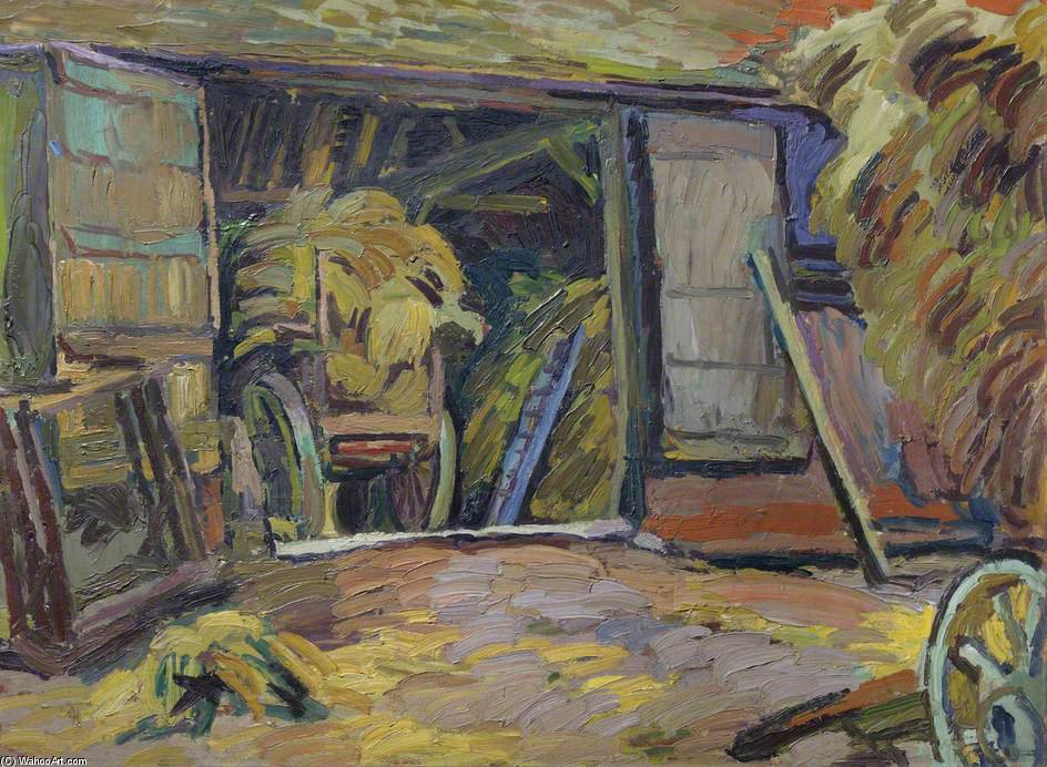 The Barn At Charleston by Duncan Grant (1885-1978, Scotland)