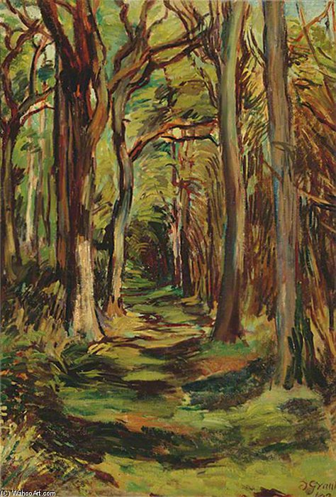 The Glade, Firle Park, East Sussex by Duncan Grant (1885-1978, Scotland)