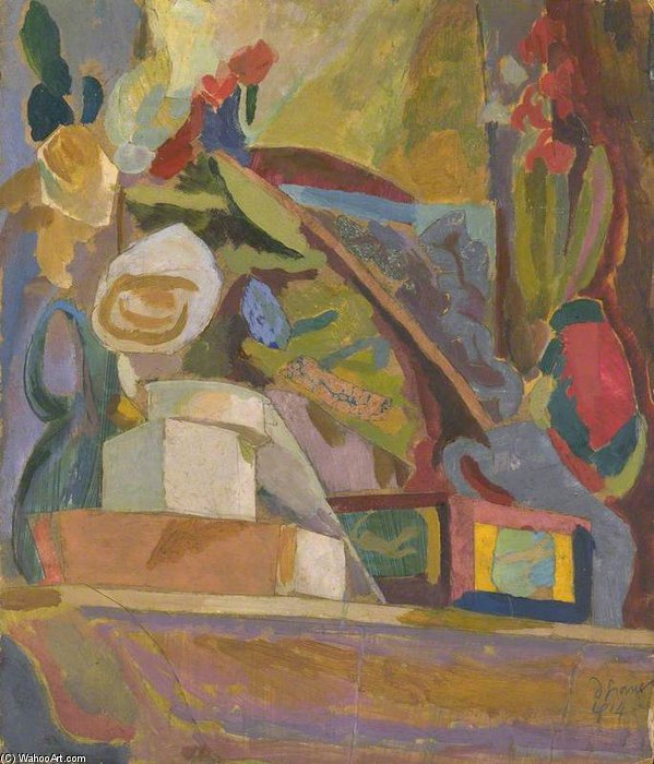 The Mantelpiece by Duncan Grant (1885-1978, Scotland)
