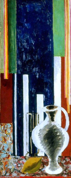 The White Jug by Duncan Grant (1885-1978, Scotland) | Painting Copy | ArtsDot.com