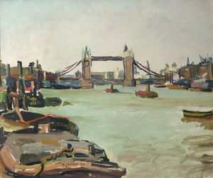 Duncan Grant - Tower Bridge