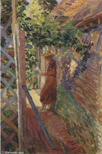 Under The Vine by Duncan Grant (1885-1978, Scotland)