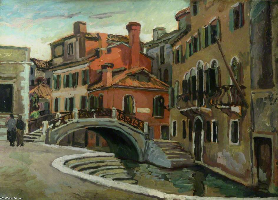 View In Venice by Duncan Grant (1885-1978, Scotland)
