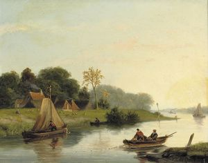 Nicolaas Johannes Roosenboom - Hauling In The Nets