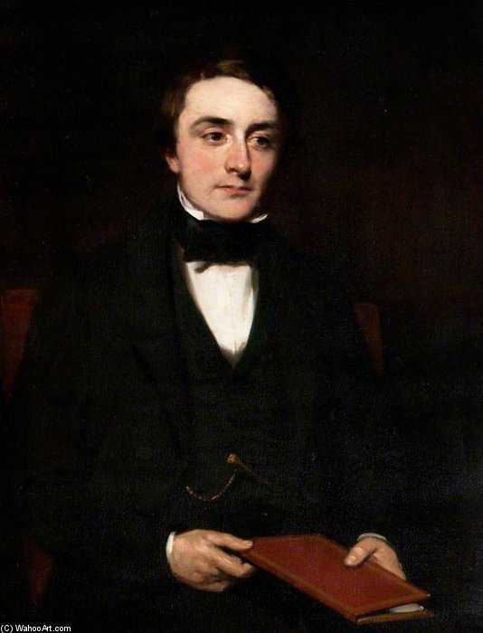 Portrait Of A Gentleman by Francis Grant (1803-1878, United Kingdom) | Oil Painting | ArtsDot.com
