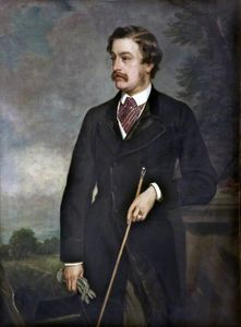 Francis Grant - The 4th Earl Of Sefton As A Young Man