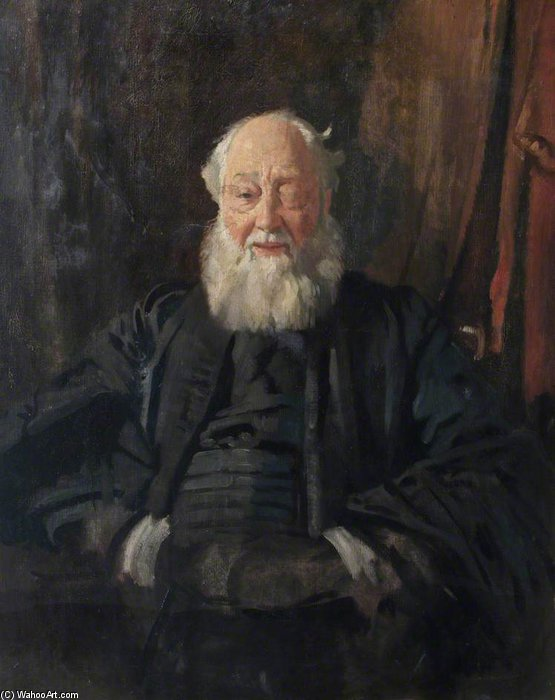 Dr Butler In Robes by William Newenham Montague Orpen (1878-1931, Ireland) | Art Reproduction | ArtsDot.com