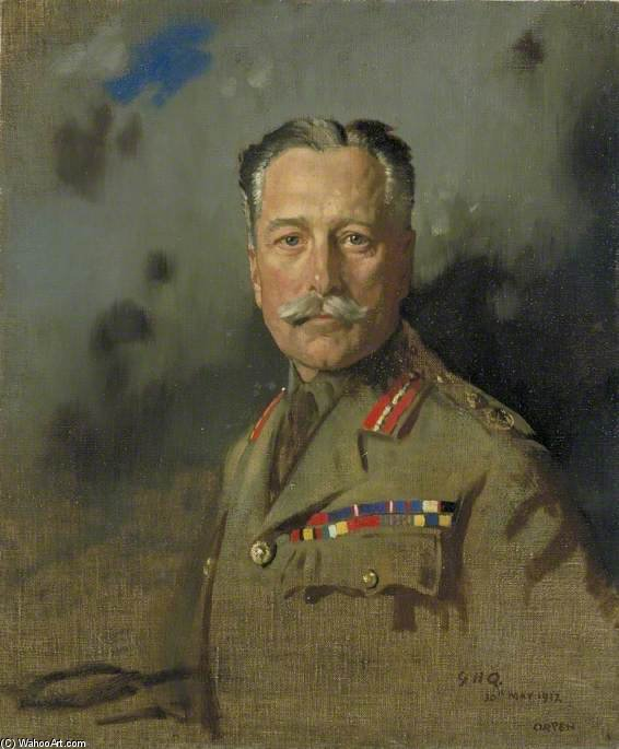 Field Marshal Sir Douglas Haig by William Newenham Montague Orpen (1878-1931, Ireland)