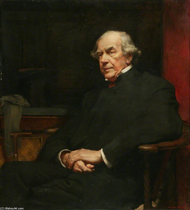 James Staats Forbes by William Newenham Montague Orpen (1878-1931, Ireland) | ArtsDot.com
