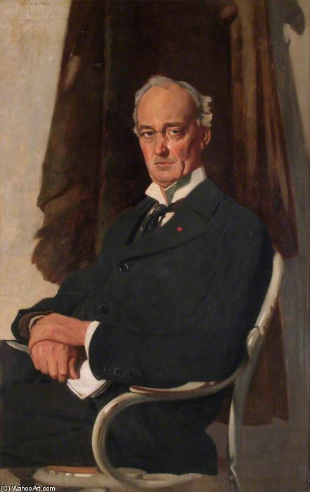 Lord Riddell by William Newenham Montague Orpen (1878-1931, Ireland)