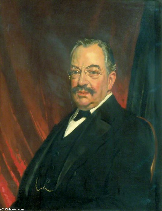 Marcus Samuel by William Newenham Montague Orpen (1878-1931, Ireland)