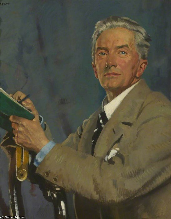 Paul Waterhouse by William Newenham Montague Orpen (1878-1931, Ireland) | Art Reproduction | ArtsDot.com