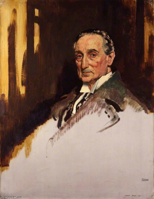 Rufus Isaacs, 1st Marquess Of Reading by William Newenham Montague Orpen (1878-1931, Ireland) | Painting Copy | ArtsDot.com