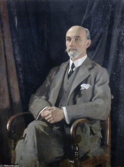 Sir Charles Thomas-stanford by William Newenham Montague Orpen (1878-1931, Ireland) | Museum Art Reproductions | ArtsDot.com