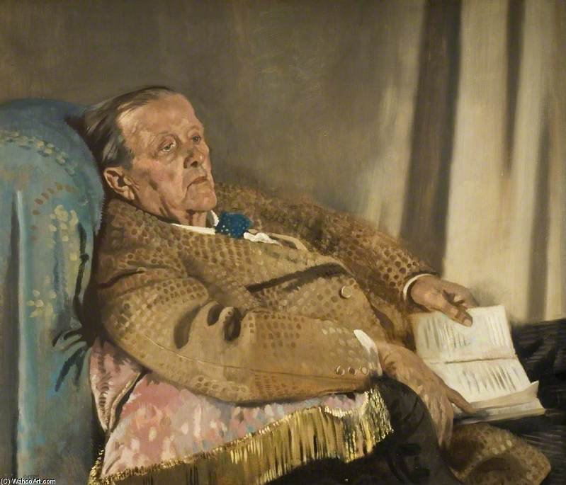 Sir Edwin Ray Lankester by William Newenham Montague Orpen (1878-1931, Ireland)