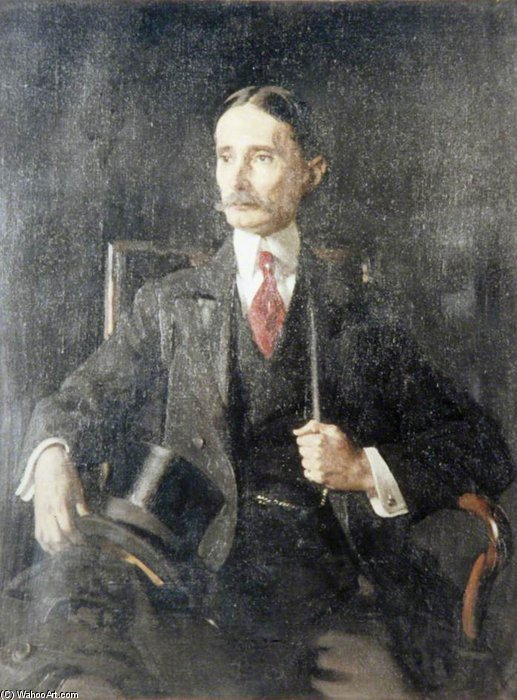 Sir Henry Percy Harris by William Newenham Montague Orpen (1878-1931, Ireland) | Art Reproduction | ArtsDot.com
