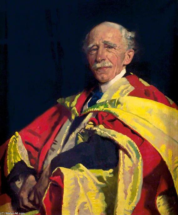 Sir J. Ambrose Fleming by William Newenham Montague Orpen (1878-1931, Ireland) | Museum Quality Reproductions | ArtsDot.com
