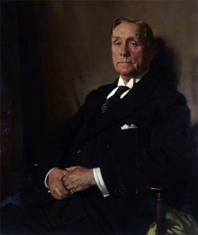 Sir Robert Williams Of Park by William Newenham Montague Orpen (1878-1931, Ireland) | Oil Painting | ArtsDot.com