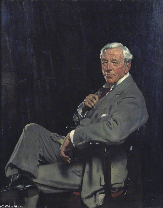 Sir William Mccormick by William Newenham Montague Orpen (1878-1931, Ireland) | Art Reproduction | ArtsDot.com