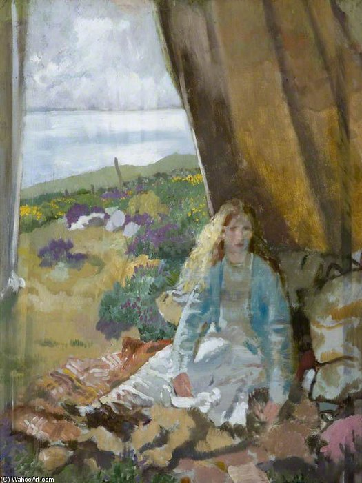 Summer Time by William Newenham Montague Orpen (1878-1931, Ireland)