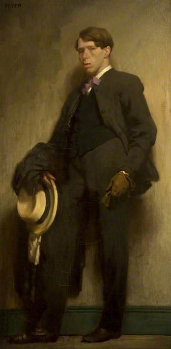 The Artist As A Young Man by William Newenham Montague Orpen (1878-1931, Ireland)