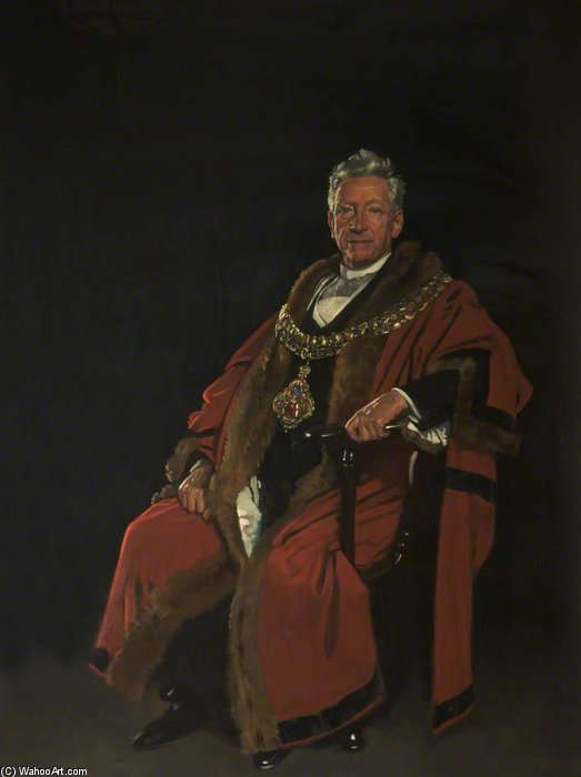 The Right Honourable Baron Leverhulme by William Newenham Montague Orpen (1878-1931, Ireland)