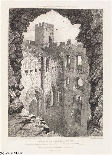 Architecture Of The Middle Ages by Joseph Nash The Younger (1835-1922, United Kingdom) | ArtsDot.com